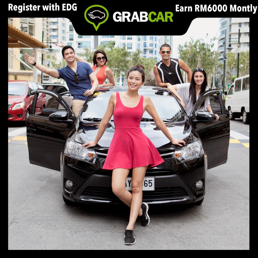 Grabcar drive full time